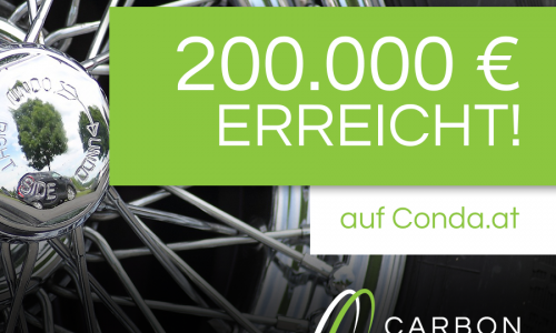 200.000 € Investment Schwelle auf Conda geknackt