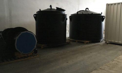 Lieferung Gaswäscheanlage